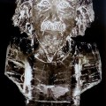 einstein Ice Sculpture