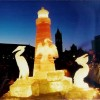 light house ice Sculpture