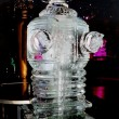 robot ice sculpture