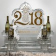 2018 with glitter _ with bottle holders _ 1 block