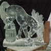 BUCKING HORSE Ice Sculture