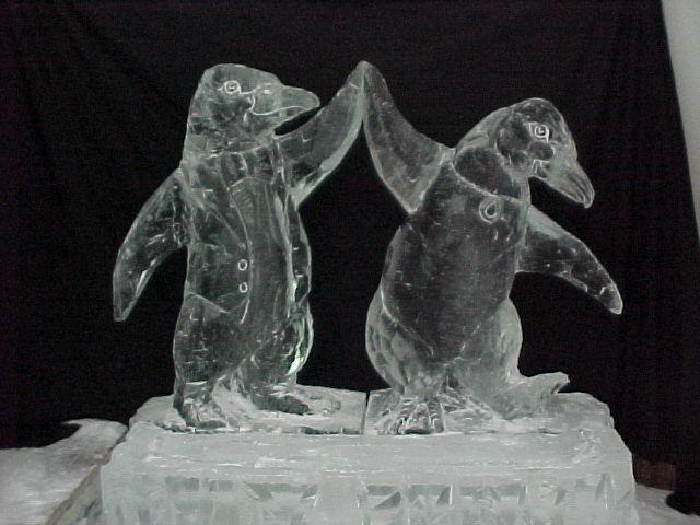 animal snow sculptures - photo #16