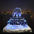 Feed your soul elephant logo luge