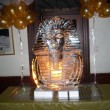 King Tut ice carving