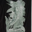 SAILFISH ice carving