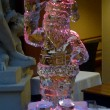 Santa waving Ice Sculpture