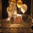 Sphinx ice sculpture