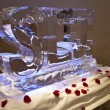 Sports Legacy Institute Ice Sculpture
