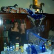 Wraparound Martini Glass Luge