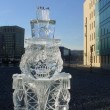 close up of nutcracker Ice Sculpture