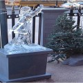 dancer Ice Sculpture