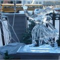 dancer Ice Sculpture