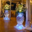 fancy vases ice carvings