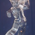 golfer Ice Sculpture
