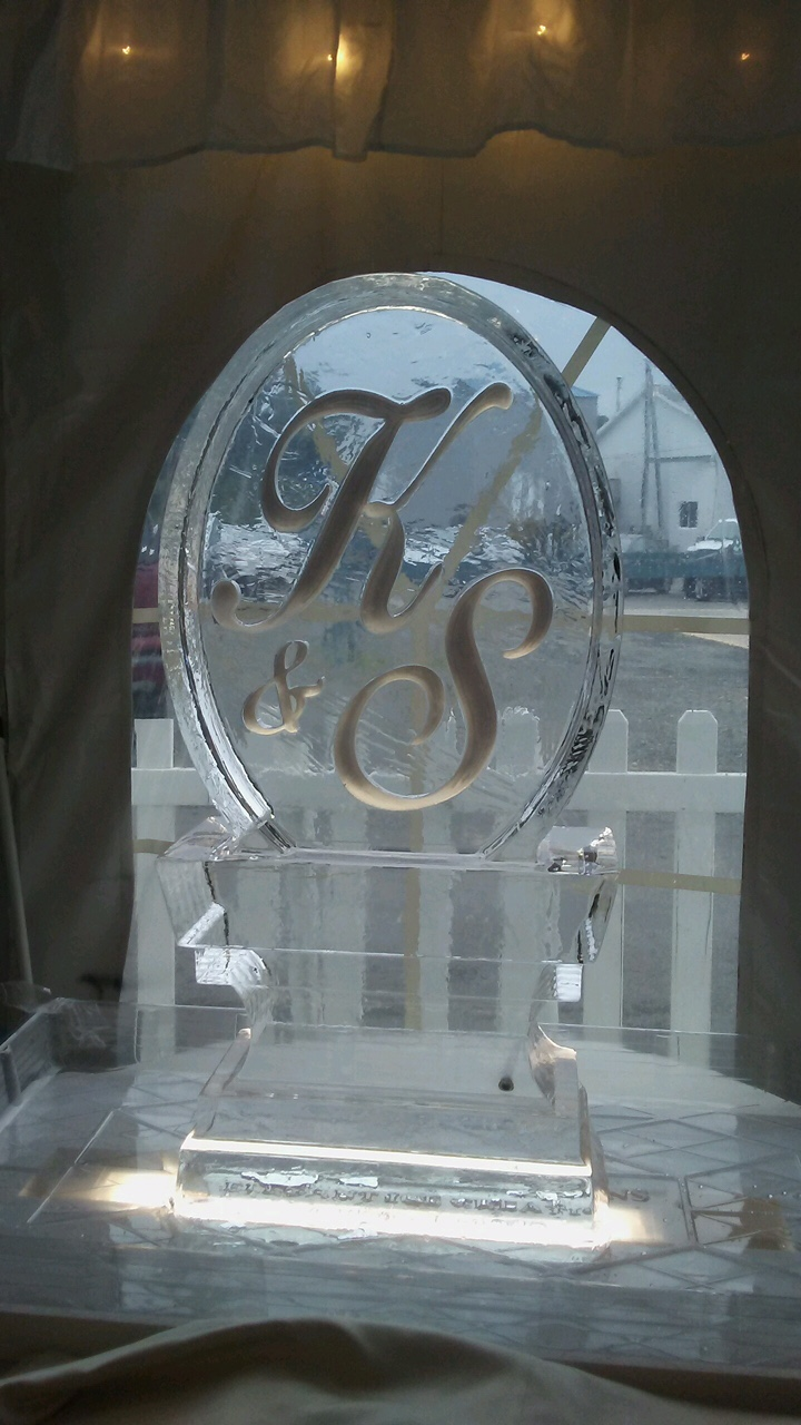 ice sculpture weddings special occasion boston  brookline ma