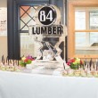 logo with fan base 84 lumber