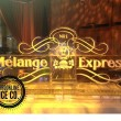 melange express logo with luges