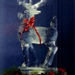 reindeer Ice Sculpture