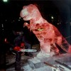 t-rex Ice Sculpture